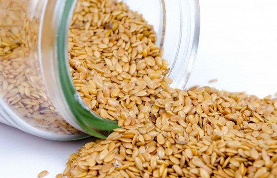 Sesame seeds in jar